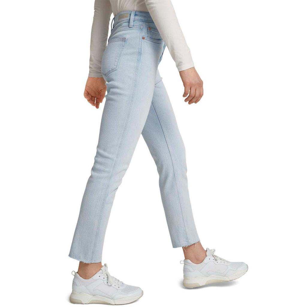 TOM TAILOR Denim 5-Pocket-Jeans, in modischer Ankle-Länge