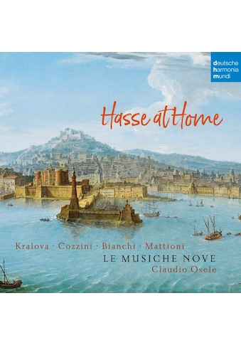 Musik-CD »Hasse at Home-Cantatas and Sonatas / Le Musiche Nove/Osele,Claudio« kaufen