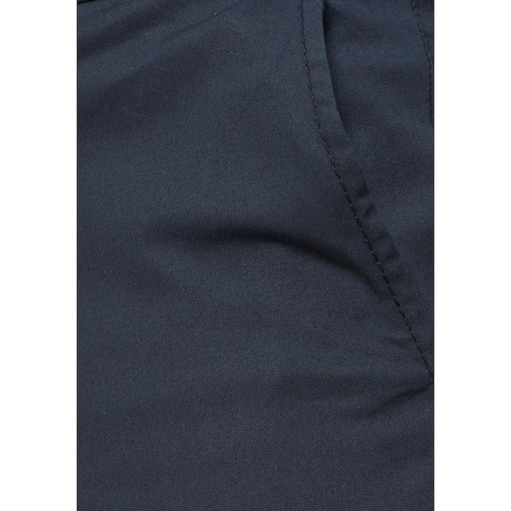 SELECTED HOMME Chinohose »SLIM-YARD WHITE PEPPER PANTS«, (Set, 2 tlg., mit Gürtel)