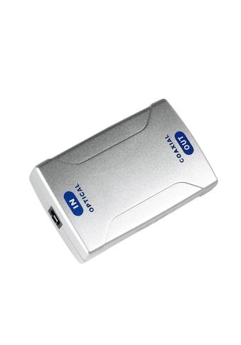 Hama Digital-Konverter, Optical IN ODT (Toslink)/Koax OUT kaufen