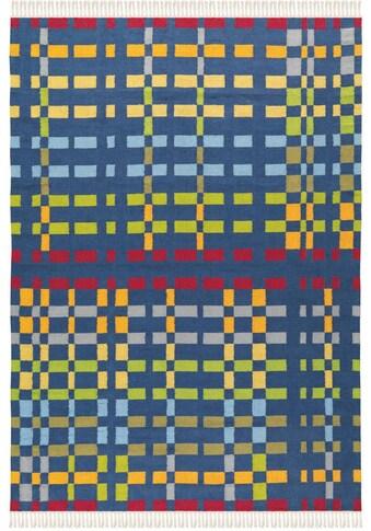 Arte Espina Wollteppich »Craft 8004«, rechteckig, 12 mm Höhe, reine Wolle, Wohnzimmer kaufen