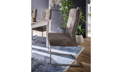MCA furniture Freischwinger »Talena«, 2er-Set, Stuhl belastbar bis 120 Kg kaufen