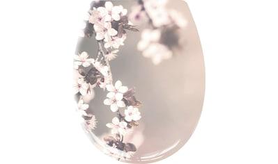 Kleine Wolke WC-Sitz »Blossom«, Hübscher WC-Sitz aus Duroplast kaufen