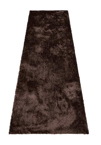Bruno Banani Hochflor-Läufer »Dana«, rechteckig, 30 mm Höhe, besonders weich durch... kaufen