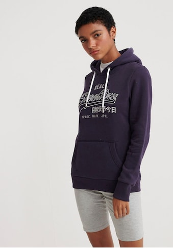 Superdry Kapuzensweatshirt »V LOGO EMB OUTLINE ENTRY HOOD« kaufen