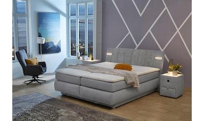 Jockenhöfer Gruppe Boxspringbett, mit Bettkasten, LED-Beleuchtung und Topper kaufen