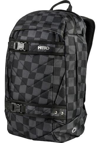 NITRO Laptoprucksack »Aerial Black Checker« kaufen