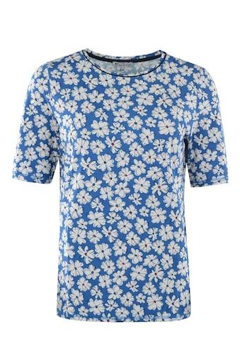 Hajo Kurzarmshirt, mit floralem Print kaufen