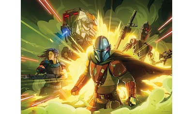 Komar Wandbild »Mandalorian Fireteam«, Disney-Star Wars, (1 St.), 50 x 40 cm (Breite x... kaufen
