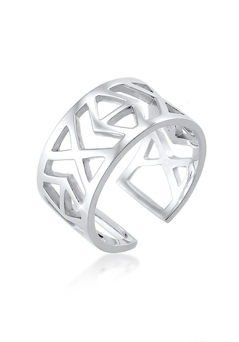 Elli Fingerring »Ikat-Muster 925 Sterling Silber« kaufen