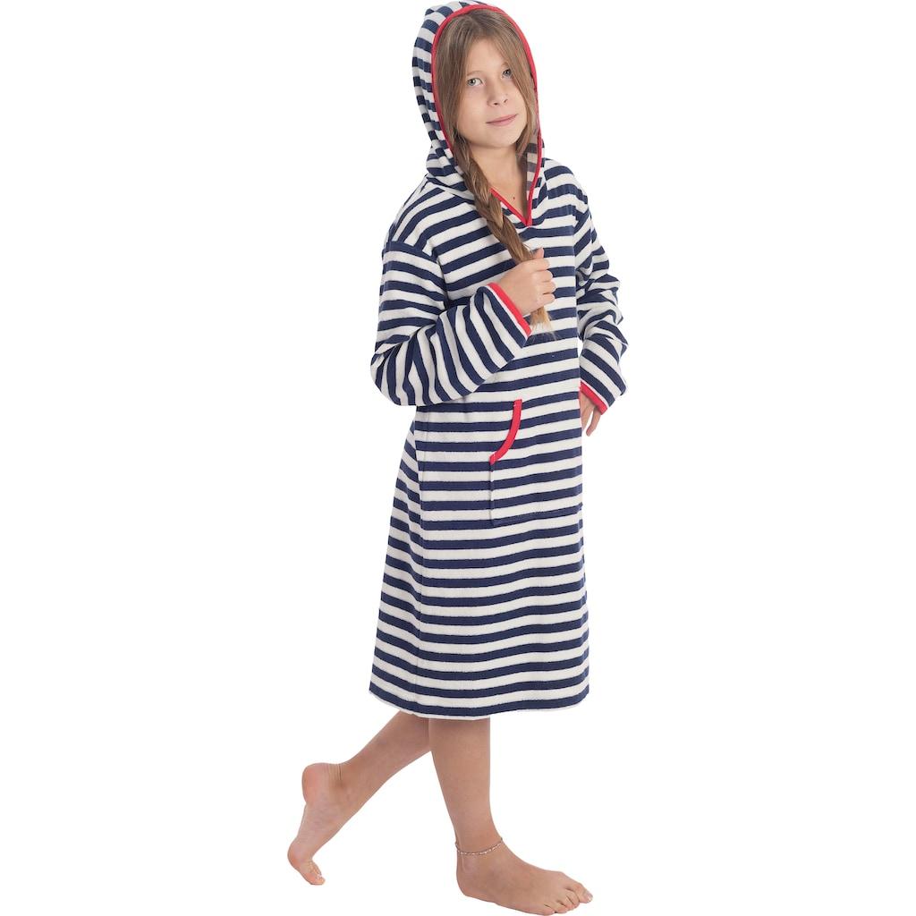 Wewo fashion Bademantel »8017«, mit Känguruh-Tasche