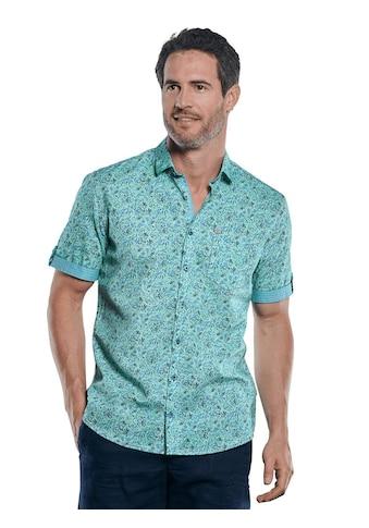 Engbers Floral gemustertes Leinen-Mix-Hemd kaufen
