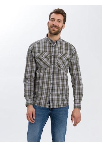 Cross Jeans® Langarmhemd »35397«, Kariertes Hemd mit weichem Griff kaufen