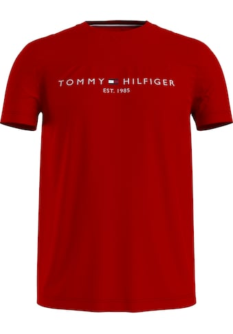 TOMMY HILFIGER T-Shirt »Tommy Logo Tee« kaufen
