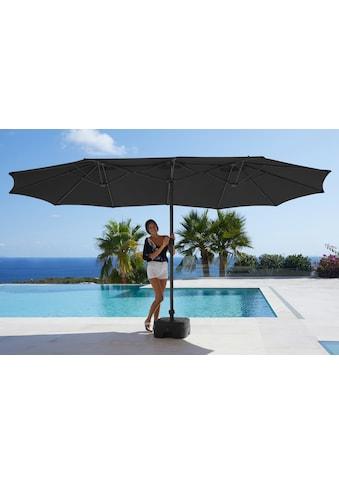 garten gut Sonnenschirm »Fuerteventura«, Inkl. Schutzhülle, ohne Schirmständer kaufen