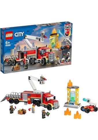 LEGO® Konstruktionsspielsteine »Mobile Feuerwehreinsatzzentrale (60282), LEGO® City... kaufen