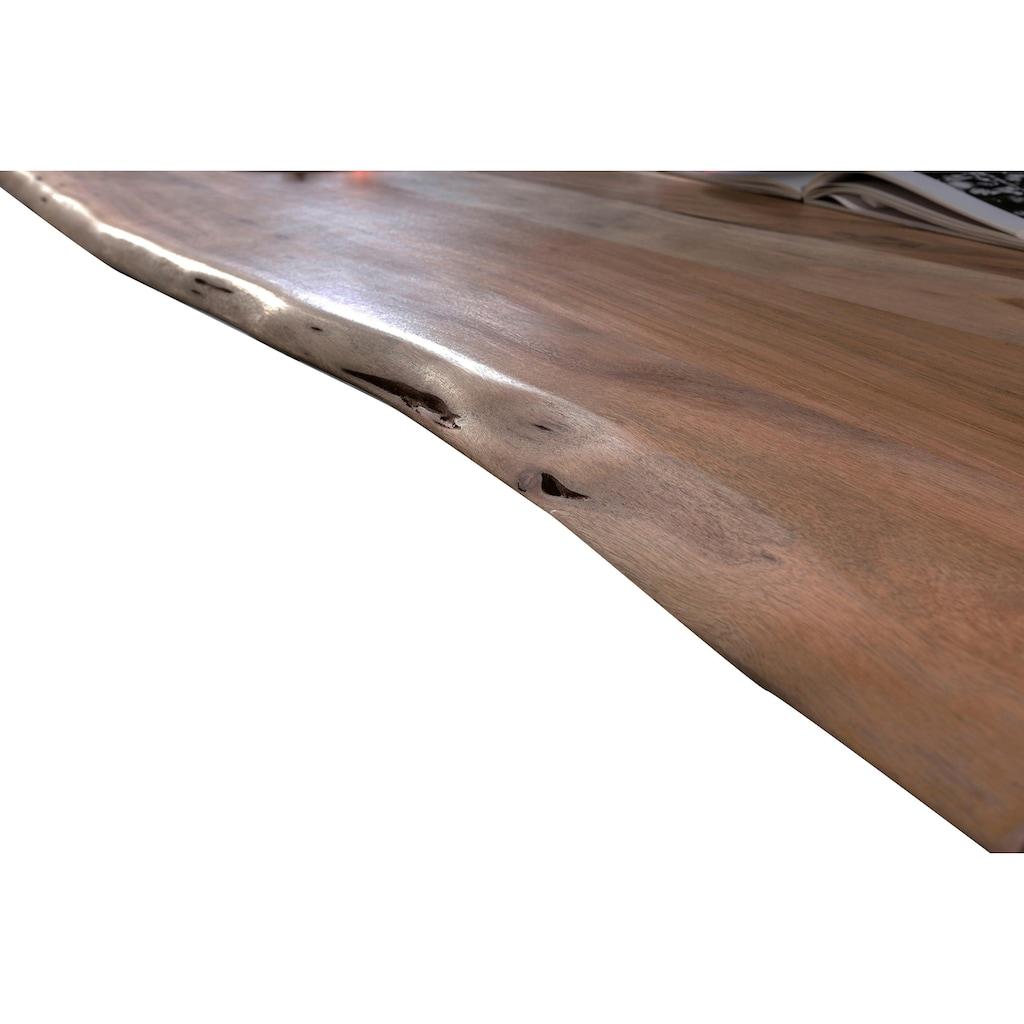 SIT Esstisch »Tops&Tables«, mit Tischplatte aus Akazie mit Baumkante wie gewachsen