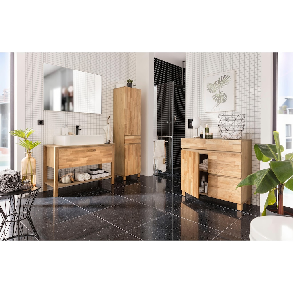 Home affaire Waschbeckenunterschrank »Kaika«, Breite 100 cm