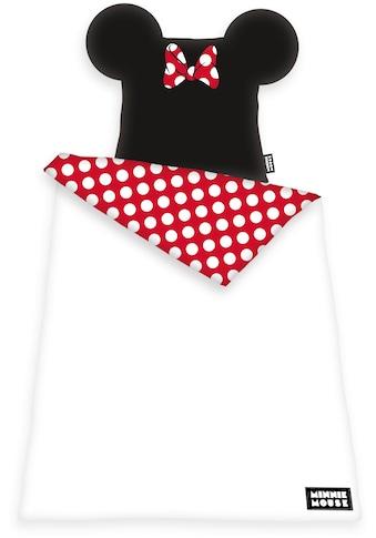 Walt Disney Bettwäsche »Disney´s Minnie Mouse«, mit Öhrchen kaufen