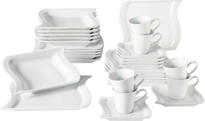 Home affaire Kombiservice »Marchetto«, (Set, 30 tlg.), geschwungene Form kaufen