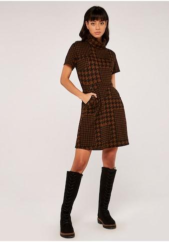 Apricot Etuikleid »Patchwork Dogtooth Epaulette Dress«, mit Rollkragen kaufen