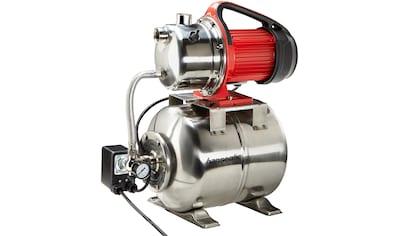 Hanseatic Hauswasserwerk »HWW 3819 Inox«, inkl. Saugschlauchgarnitur und Vorfilter kaufen
