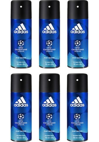 "adidas Performance Deo - Spray ""UEFA 6 Dare Edition"", Spar - Set 6 - tlg. kaufen"