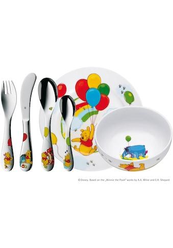 WMF Kindergeschirr-Set »Winnie Pooh«, (Set, 6 tlg.), Kindermesser mit leichtem... kaufen