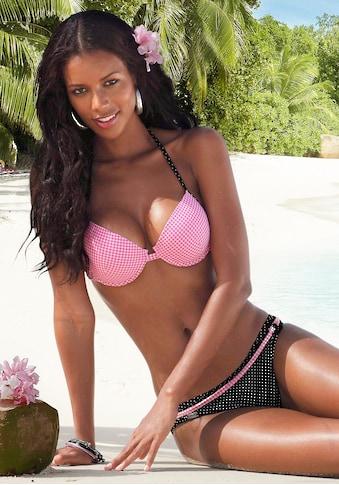 Buffalo Bikini-Hose »Florida«, mit andersfarbigem Ziergürtel kaufen