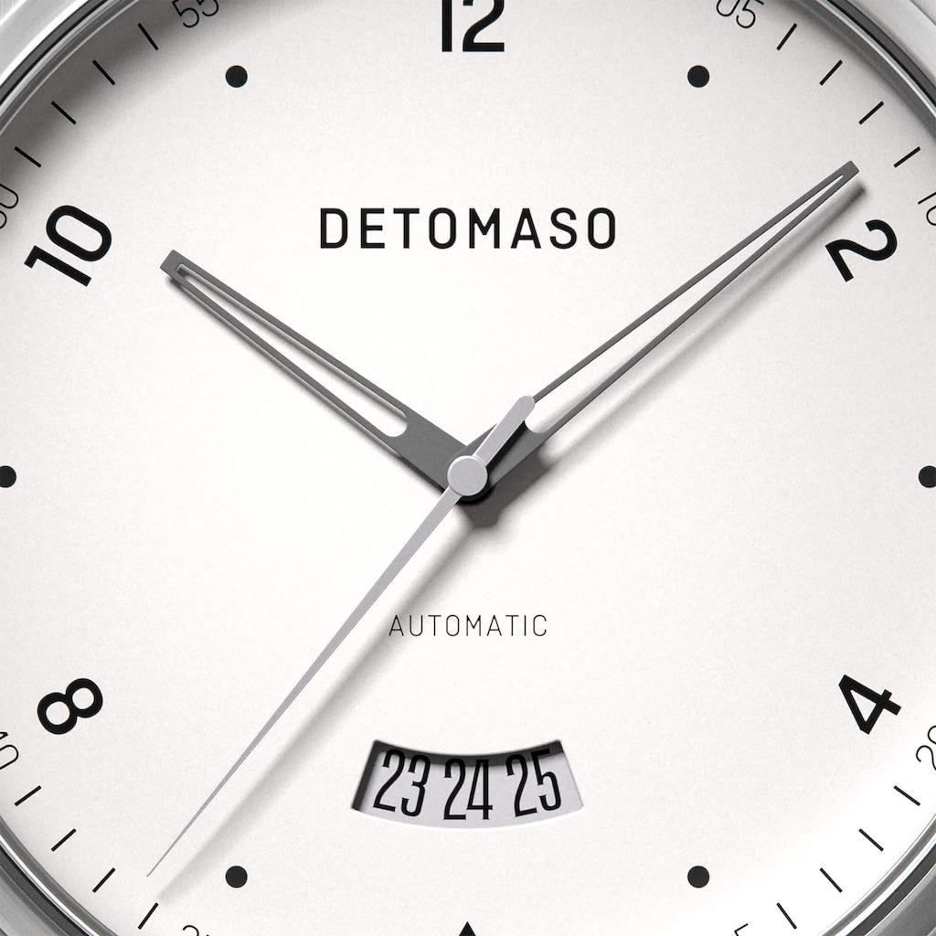 DETOMASO Automatikuhr »VIAGGIO AUTOMATIC SILVER WHITE«
