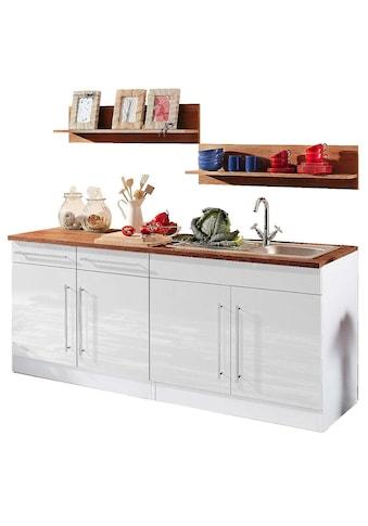HELD MÖBEL Küchenzeile »Keitum«, ohne E-Geräte, Breite 200 cm kaufen