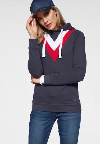 Arizona Kapuzensweatshirt, im Colorblockingstyle kaufen