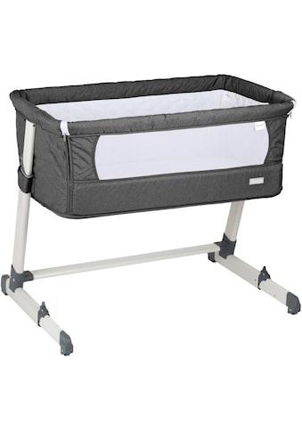 BabyGo Beistellbett »Together, dark grey«, faltbar kaufen