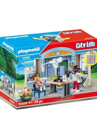 """Playmobil® Konstruktions - Spielset """"Beim Tierarzt (70309), City Life"""", Kunststoff, (59 - tlg.) kaufen"""