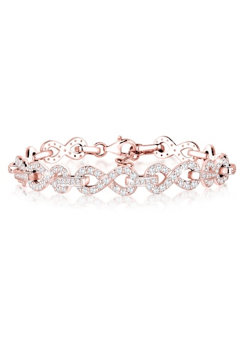 Elli Armband »Infinity Zirkonia 925 Silber« kaufen
