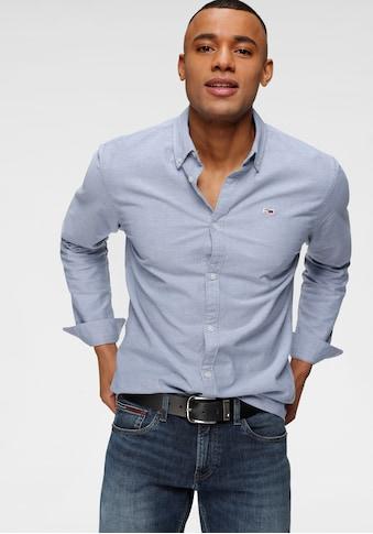 TOMMY JEANS Langarmhemd »TJM STRETCH OXFORD SHIRT« kaufen