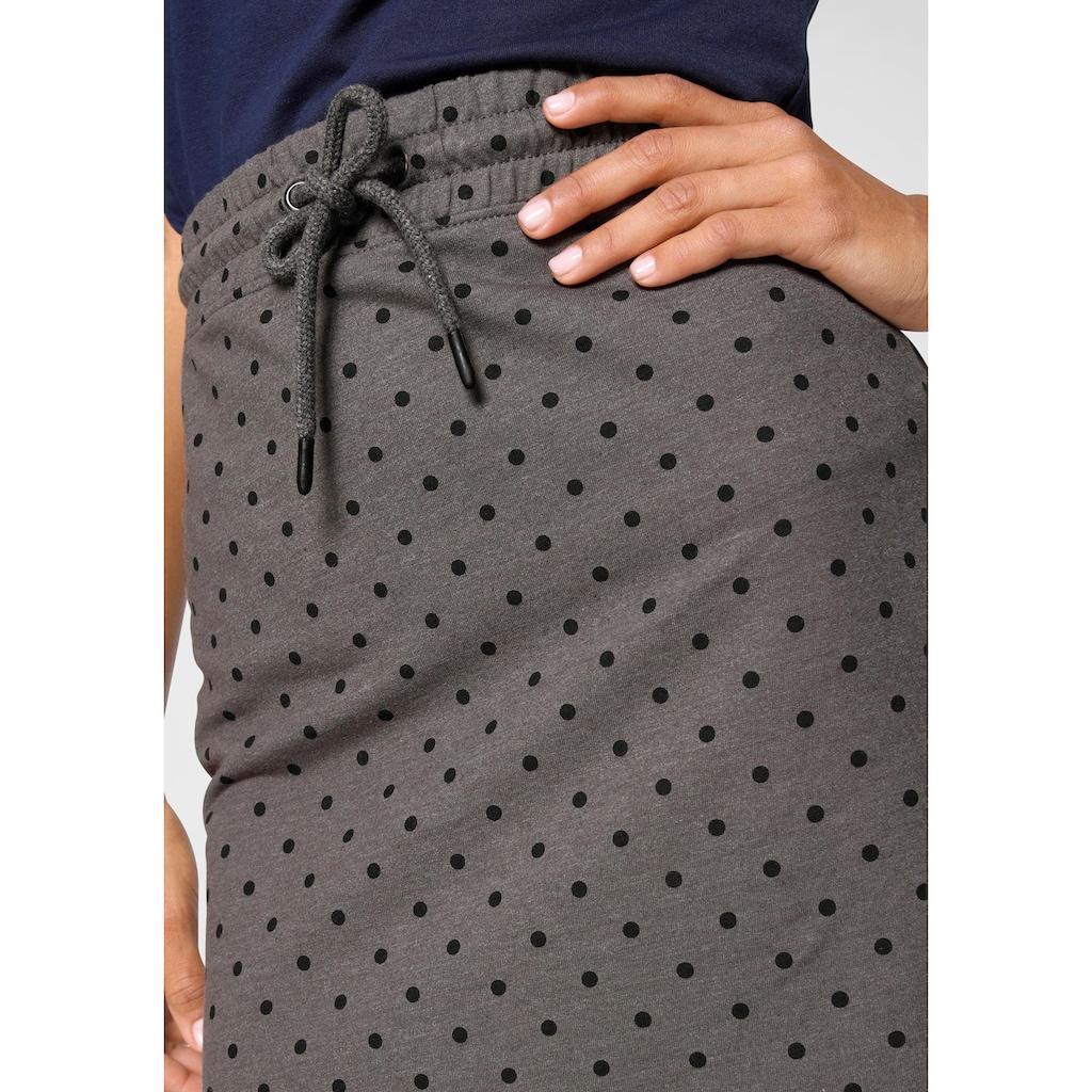 AJC Sweatrock, mit Gummibund & Kordel in uni oder bedruckt