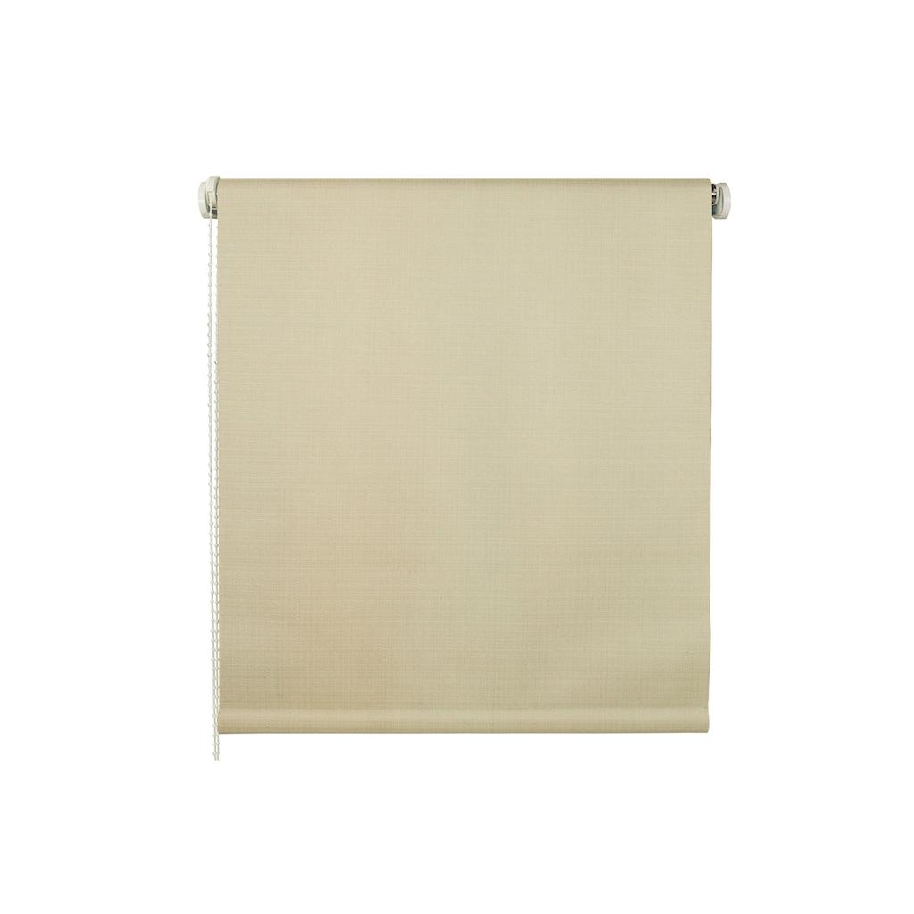 Liedeco Seitenzugrollo »Struktur«, verdunkelnd, mit Bohren, Uni, im Festmaß