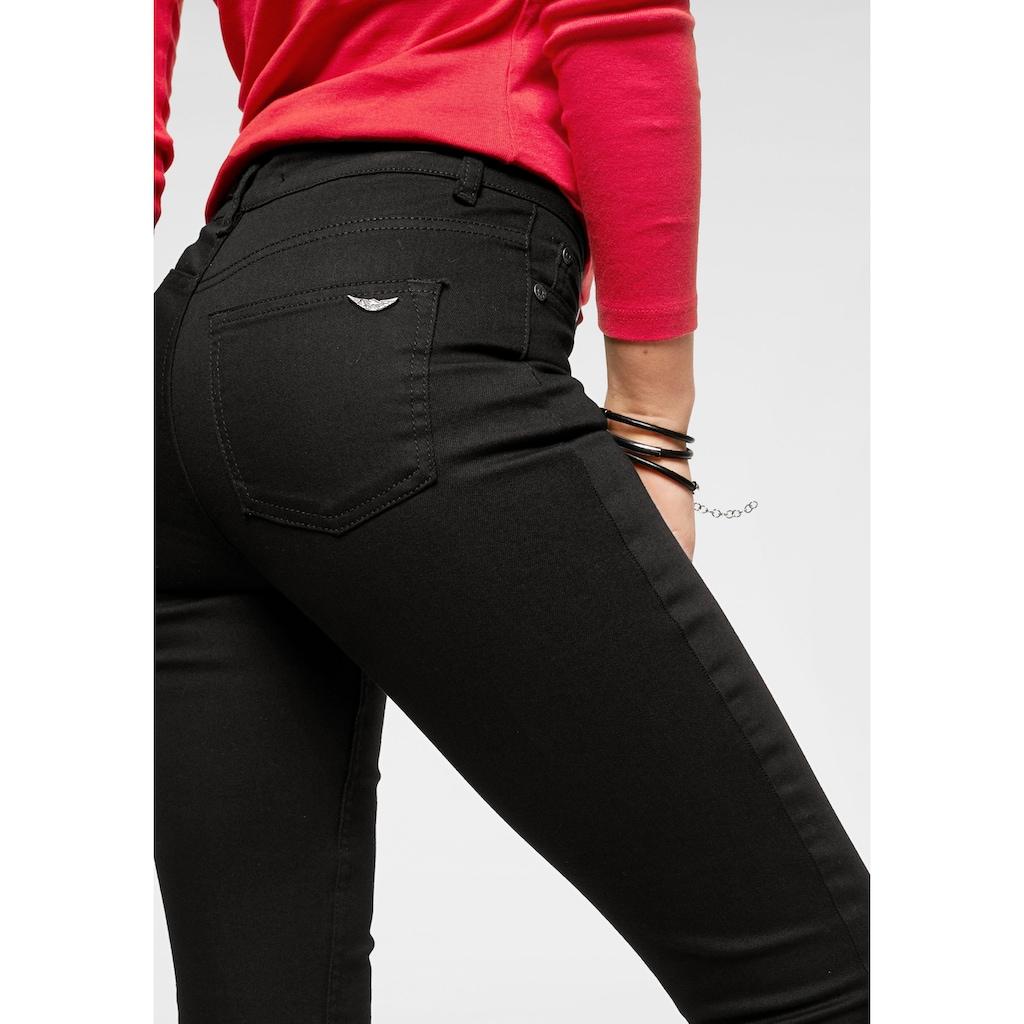 Arizona Slim-fit-Jeans »black stays black«, High Waist