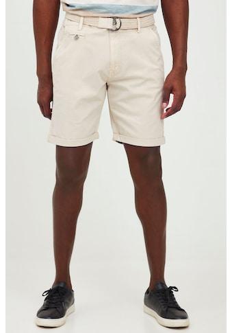 Indicode Chinoshorts »Ron«, Kurze Hose mit Gürtel kaufen