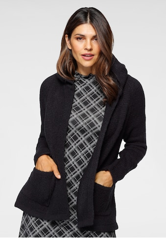 Boysen's Strickjacke, in Kurzform mit Kapuze kaufen