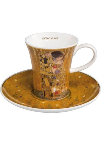 Goebel Espressotasse »Der Kuss«, goldfarben kaufen