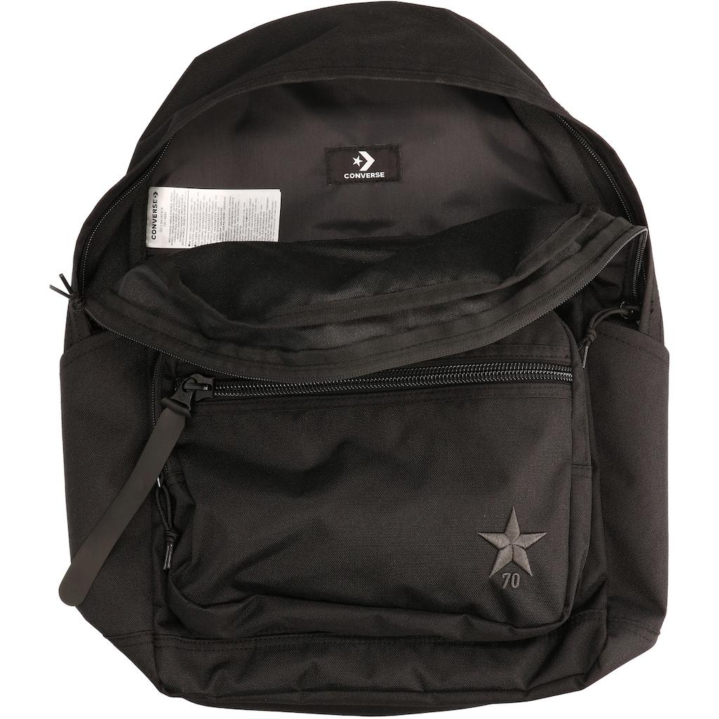 Converse Laptoprucksack »Go 2, Stern, converse black«