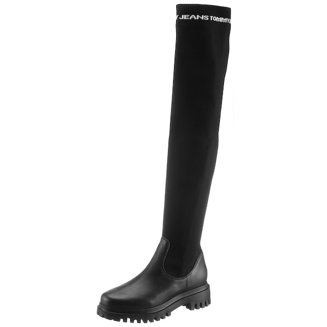 TOMMY JEANS Overkneestiefel »TOMMY JEANS OVER THE KNEE BOOT«