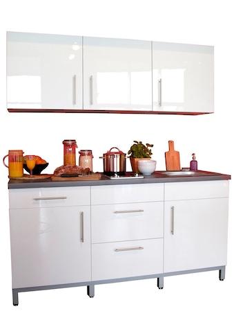 Menke Küchen Küchenzeile »Rack-Time I 180«, mit E-Geräten kaufen