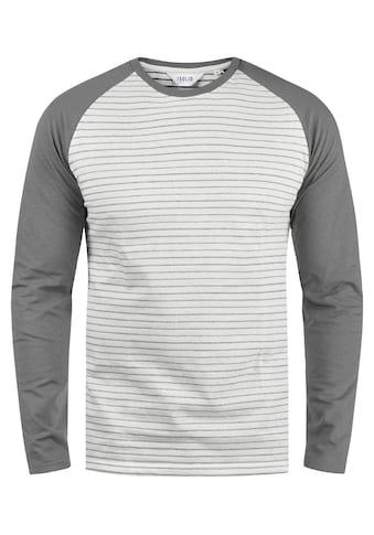 Solid Langarmshirt »Stepan«, Longsleeve kaufen