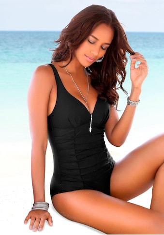 LASCANA Badeanzug, mit dekorativer Raffung und Shaping-Effekt kaufen