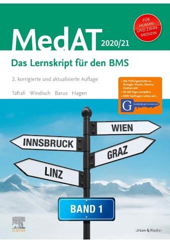 Buch »MedAT Humanmedizin/Zahnmedizin 2020/2021- Band 1 / Deniz Tafrali, Paul Yannick... kaufen