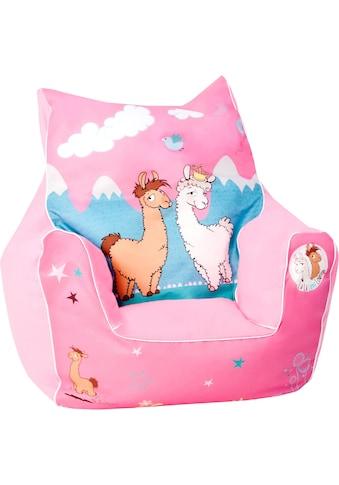 Knorrtoys® Sitzsack »NICI La-La-Lama Lounge«, für Kinder; Made in Europe kaufen