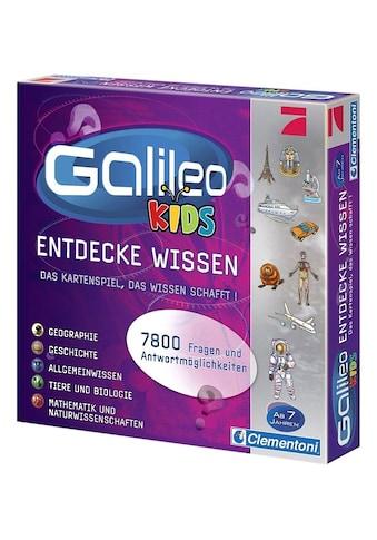 Clementoni® Spiel »Galileo Kids«, Made in Europe kaufen